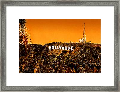 Fired Up Framed Print