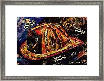 Firefighters Tribute Framed Print