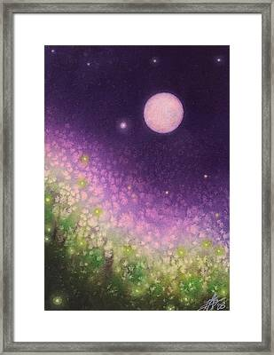Firefly Night II Framed Print