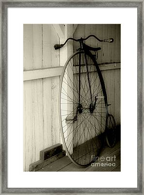 Firehouse Velocipede Framed Print by RC deWinter