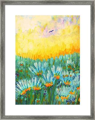 Firelight Framed Print