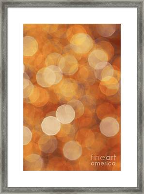 Firelight Framed Print by Jan Bickerton
