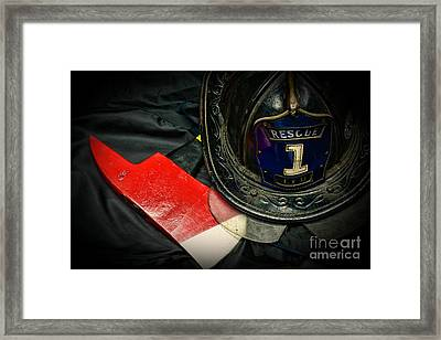 Fireman - Rescue 1 Framed Print