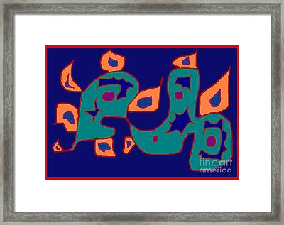 Firent Framed Print by Meenal C