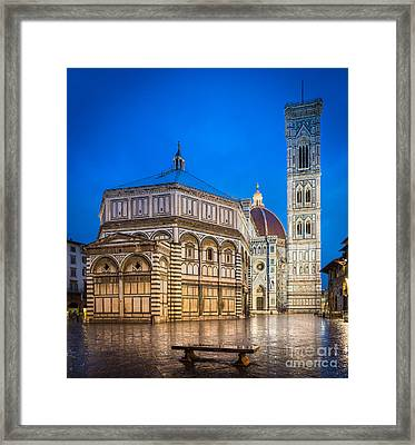 Firenze Duomo Framed Print by Inge Johnsson