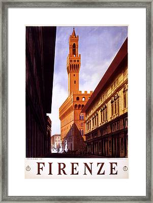 Firenze Italy Framed Print by Georgia Fowler