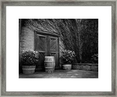 Firestone Vineyard Framed Print by Jeff Garris
