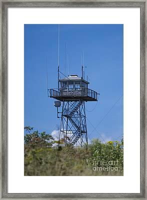 Firetower - Mt  Agamenticus - Maine Framed Print
