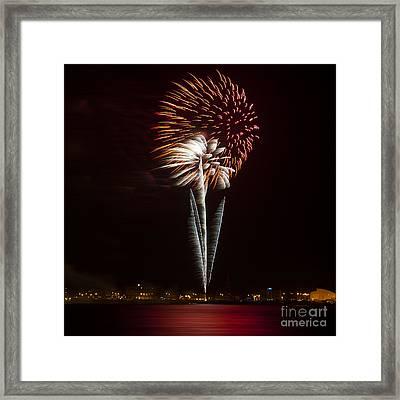 Firework 03 Framed Print