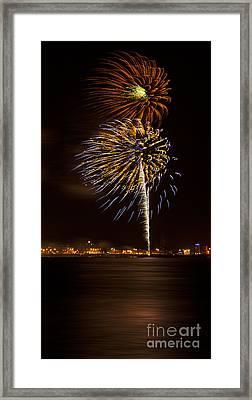 Firework 08 Framed Print