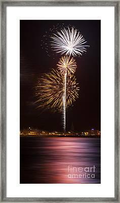 Firework 10 Framed Print by Svetlana Sewell