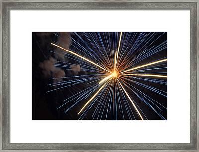 Firework 6 Framed Print