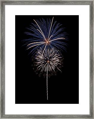 Fireworks 02 Framed Print