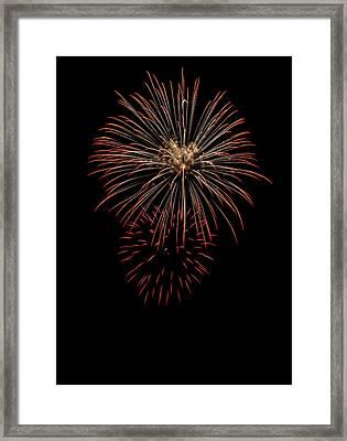 Fireworks 03 Framed Print by David Kittrell