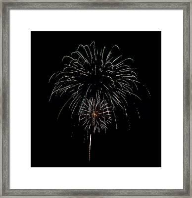 Fireworks 06 Framed Print by David Kittrell