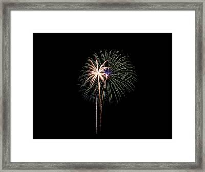Fireworks 07 Framed Print by David Kittrell