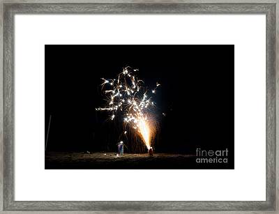 Fireworks 11 Framed Print by Cassie Marie Photography