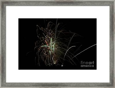 Fireworks 19 Framed Print by Cassie Marie Photography