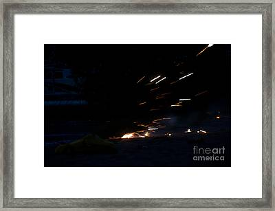 Fireworks 2 Framed Print by Cassie Marie Photography