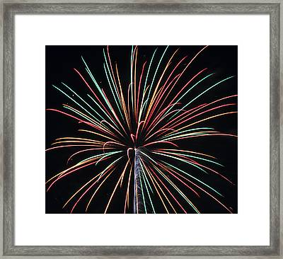 Fireworks 20 Framed Print by Staci Bigelow