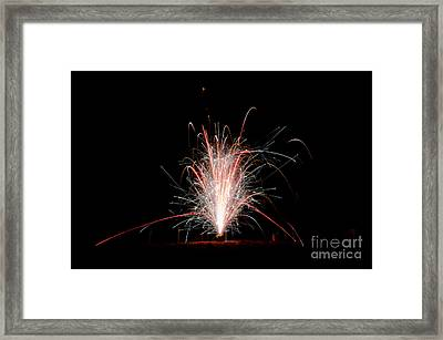 Fireworks 24 Framed Print by Cassie Marie Photography