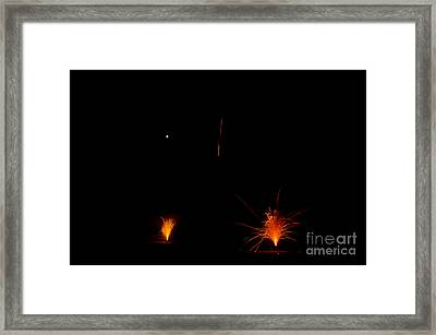 Fireworks 27 Framed Print by Cassie Marie Photography