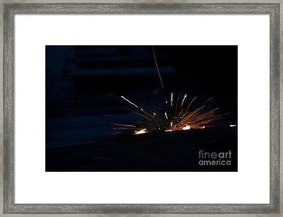Fireworks 3 Framed Print by Cassie Marie Photography