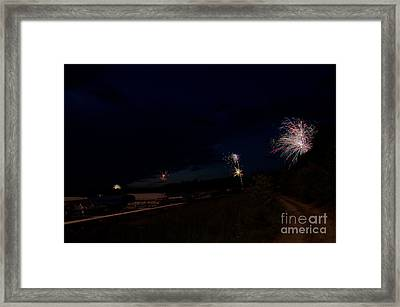 Fireworks 34 Framed Print by Cassie Marie Photography