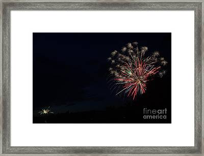 Fireworks 36 Framed Print by Cassie Marie Photography