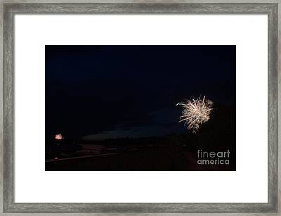 Fireworks 39 Framed Print by Cassie Marie Photography