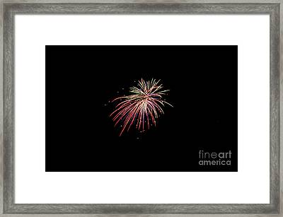Fireworks 44 Framed Print by Cassie Marie Photography