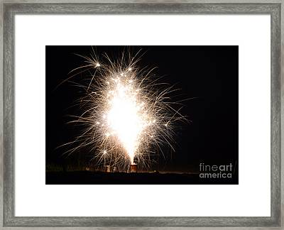 Fireworks 46 Framed Print by Cassie Marie Photography