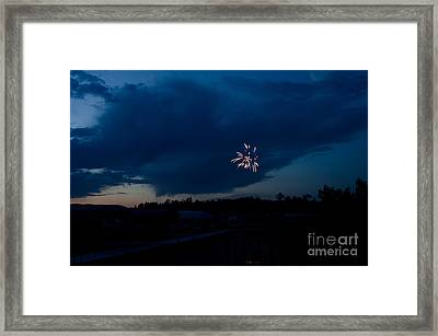 Fireworks 5 Framed Print by Cassie Marie Photography