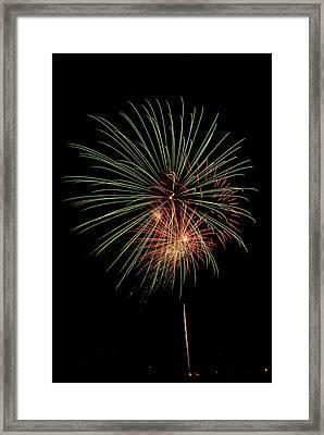 Fireworks 5 Framed Print