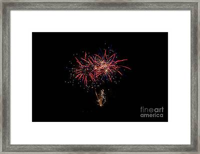 Fireworks 52 Framed Print by Cassie Marie Photography