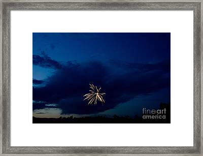 Fireworks 6 Framed Print by Cassie Marie Photography