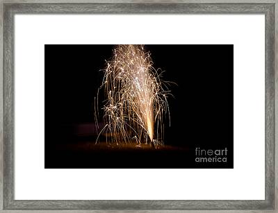 Fireworks 7 Framed Print by Cassie Marie Photography