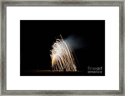 Fireworks 8 Framed Print by Cassie Marie Photography