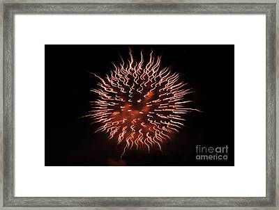 Fireworks Abstract 03 Framed Print