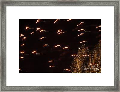 Fireworks Abstract 05 Framed Print