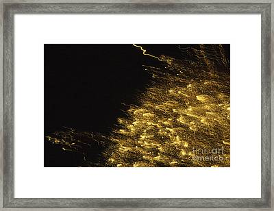 Fireworks Abstract 06 Framed Print