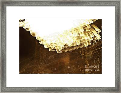 Fireworks Abstract 08 Framed Print
