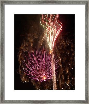 Fireworks Framed Print by Aimee L Maher Photography and Art Visit ALMGallerydotcom