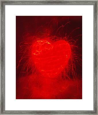 Fireworks  C2014 Framed Print