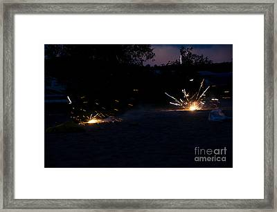 Fireworks  Framed Print by Cassie Marie Photography