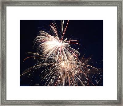 Fireworks II Framed Print