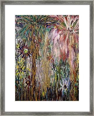 Fireworks Framed Print by Joe Billera