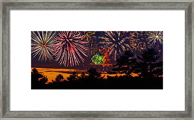 Fireworks No.1 Framed Print