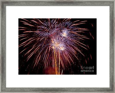 Fireworks Framed Print by Philip Pound