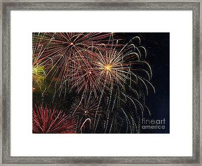 Fireworks - Royal Australian Navy Centenary 2 Framed Print